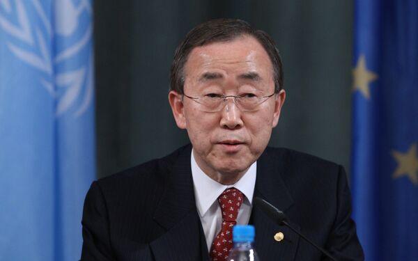 Le secrétaire général de l'Onu Ban Ki-moon - Sputnik France