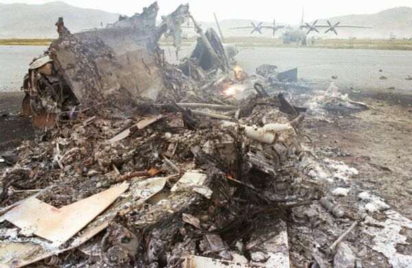 Deux morts dans le crash d'un hélicoptère en Ukraine (agence) - Sputnik France