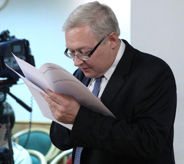 Sergueï Riabkov. - Sputnik France