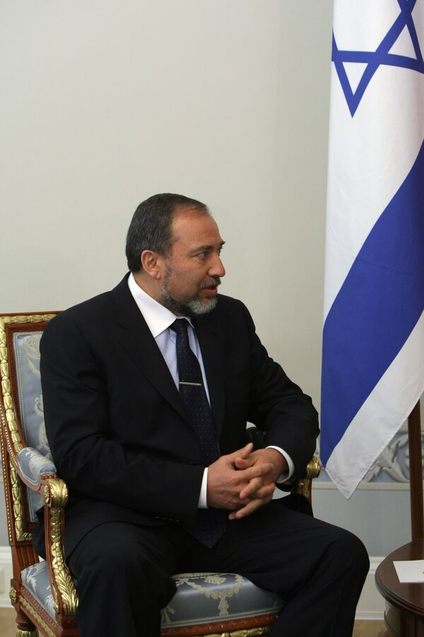 Le ministre israélien des Affaires étrangères Avigdor Lieberman - Sputnik France