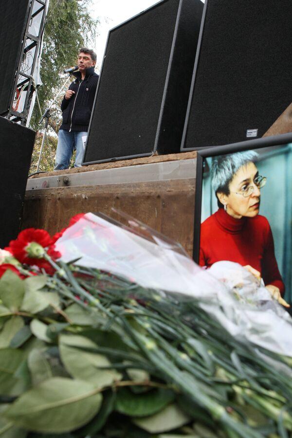 Affaire Politkovskaïa: assez de preuves pour un acte d'accusation  - Sputnik France