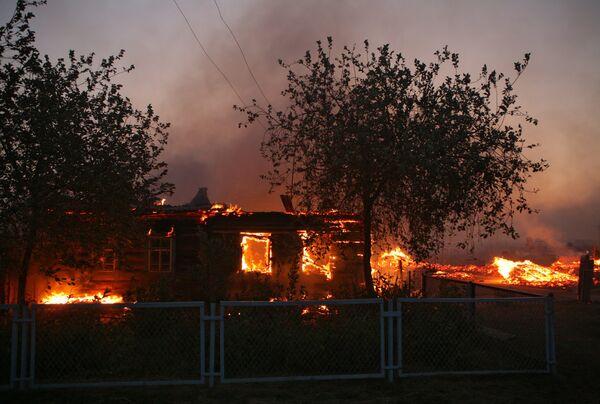 Incendies naturels en Russie - Sputnik France