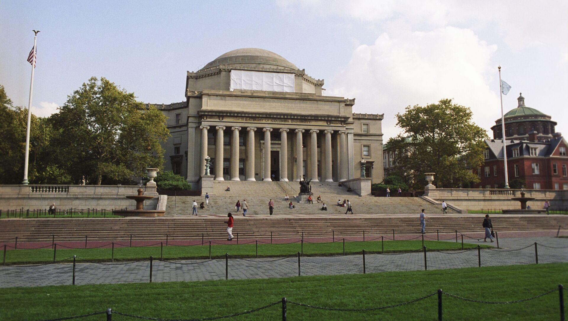 L'université de Columbia. - Sputnik France, 1920, 17.03.2021