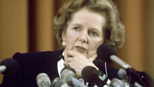 Премьер-министр Великобритании Маргарет Тэтчер - Sputnik France