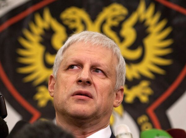Le président de l'Union de football de Russie Sergueï Foursenko - Sputnik France