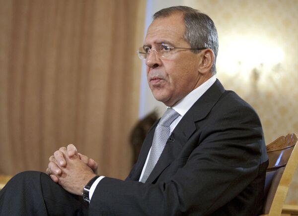 Le ministre russe des Affaires étrangères, Sergueï Lavrov - Sputnik France