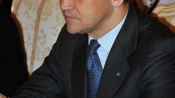 l'ancien ministre polonais de la Défense Radosław Sikorski - Sputnik France