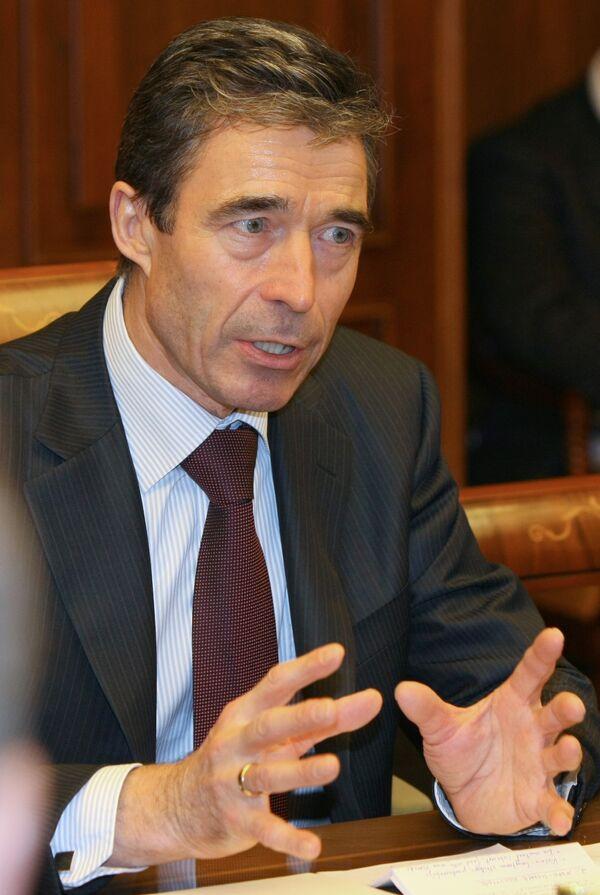 Anders Fogh Rasmussen - Sputnik France