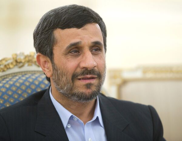 Mahmoud Ahmadinejad  - Sputnik France