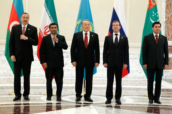 Les pays riverains de la Caspienne ont signé un accord de sécurité - Sputnik France