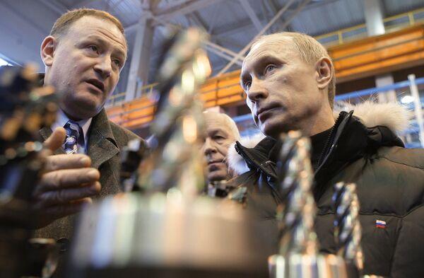 Vladimir Poutine  à VSMPO-Avisma - Sputnik France