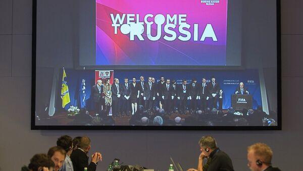 Election du pays hôte du Mondial 2018 à Zurich - Sputnik France