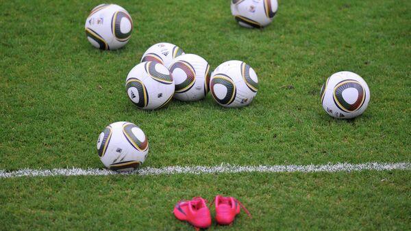 Тренировка сборной России по футболу перед матчем со сборной Бельгии - Sputnik France