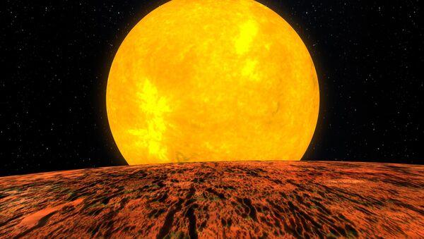 Представление художника о планете Kepler-10b - Sputnik France