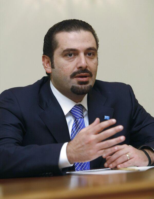 Le premier ministre libanais sortant, Saad Hariri - Sputnik France