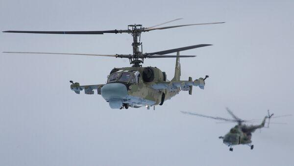 Hélicoptères russes Ka-52 «Alligator» - Sputnik France