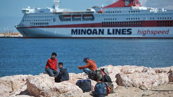 Lybie: les réfugiés affluent vers le port de Benghazi - Sputnik France