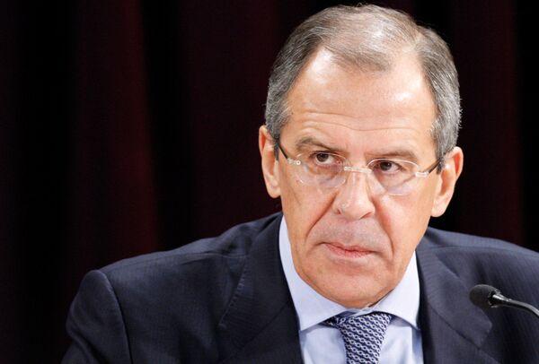 Le chef de la diplomatie russe Sergueï Lavrov - Sputnik France