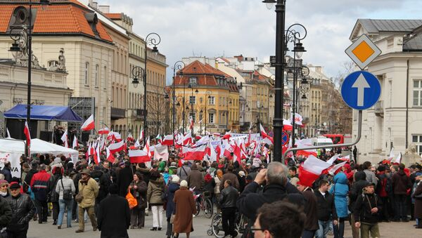 Manifestation à Varsovie - Sputnik France