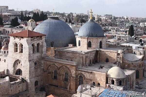 L'église du Saint-Sépulcre à Jérusalem - Sputnik France