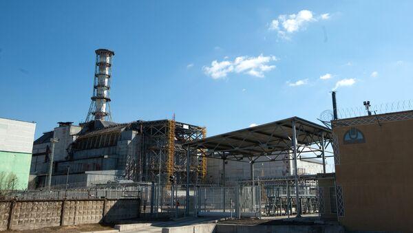 Четвертый энергоблок Чернобыльской АЭС. - Sputnik France