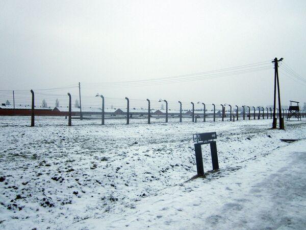 L'ancien camp d'extermination nazi d'Auschwitz-Birkenau - Sputnik France