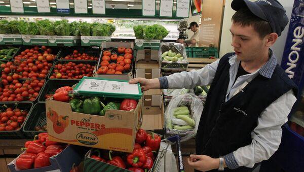 Запрет на ввоз в Россию овощей из Европы - Sputnik France