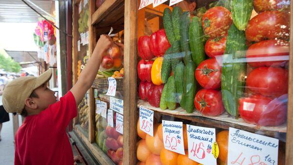 Légumes/embargo: brèves répercussions sur l'inflation en Russie - Sputnik France