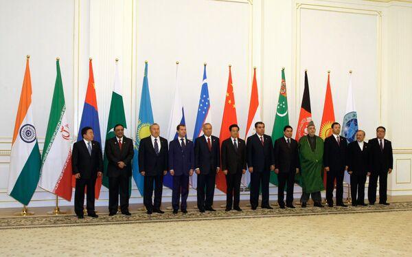L'Organisation de coopération de Shanghai (OCS). Archives. - Sputnik France
