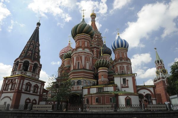 La cathédrale Basile-le-Bienheureux - Sputnik France