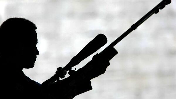 Tir à 10 m - ChE: un Russe s'offre le bronze de tir sur cible mobile mixte - Sputnik France