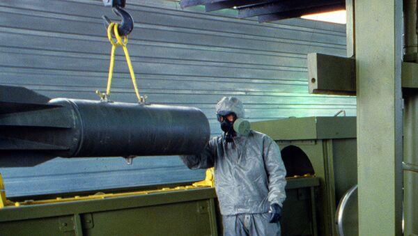 Уничтожение химического оружия - Sputnik France