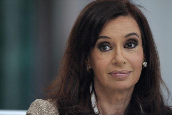 Le président argentine Cristina Fernandez de Kirchner - Sputnik France