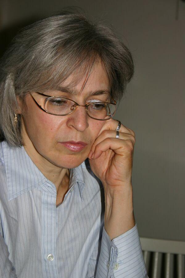 La journaliste Anna Politkovskaïa - Sputnik France