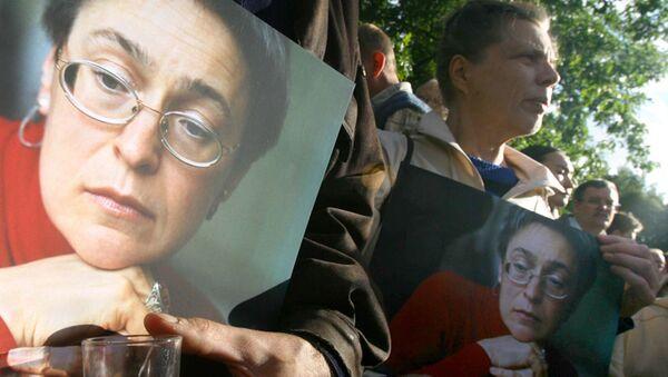 Meurtre d'Anna Politkovskaïa: un ancien témoin inculpé (officiel) - Sputnik France