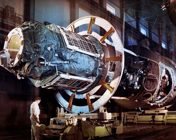 Le première station orbitale soviétique Saliout - Sputnik France