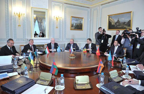 Le Conseil des chefs de gouvernement des pays membres de la Communauté des Etats indépendants (CEI) - Sputnik France