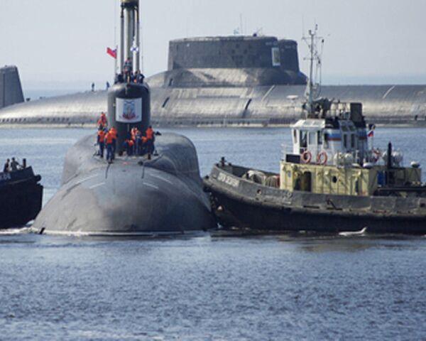 Le sous-marin nucléaire Iouri Dolgorouki (classe Boreï) - Sputnik France