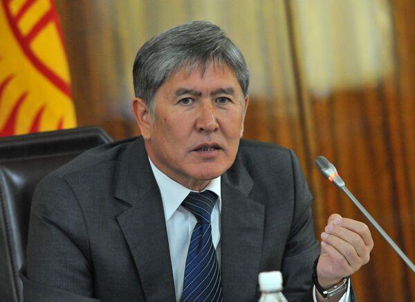 Almazbek Atambaïev - Sputnik France