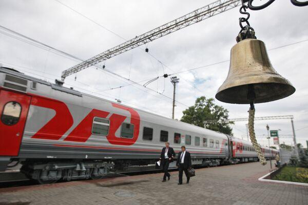 Les Chemins de fer de Russie (RZD) - Sputnik France