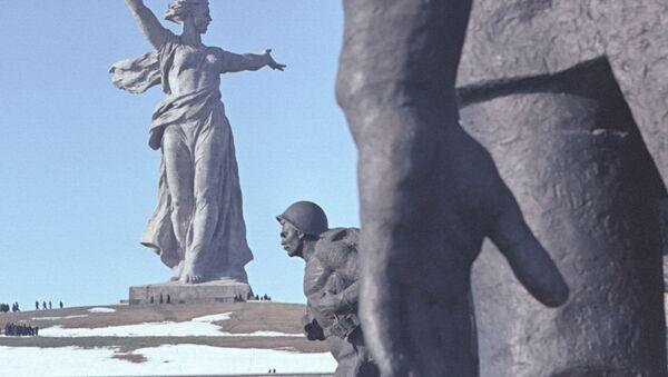 На Мамаевом кургане в Волгограде - Sputnik France