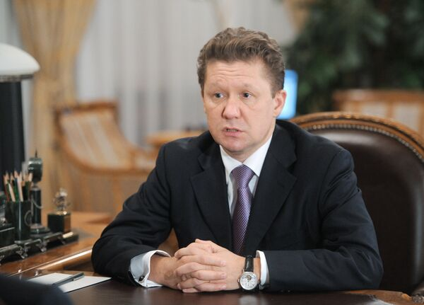 Président du conseil d'administration de Gazprom Alexeï Miller - Sputnik France