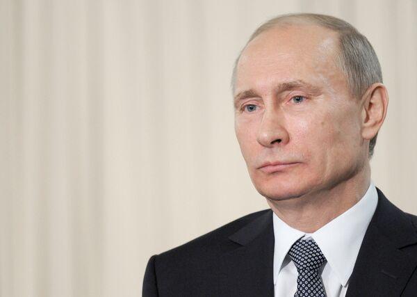 Premier ministre russe Vladimir Poutine - Sputnik France