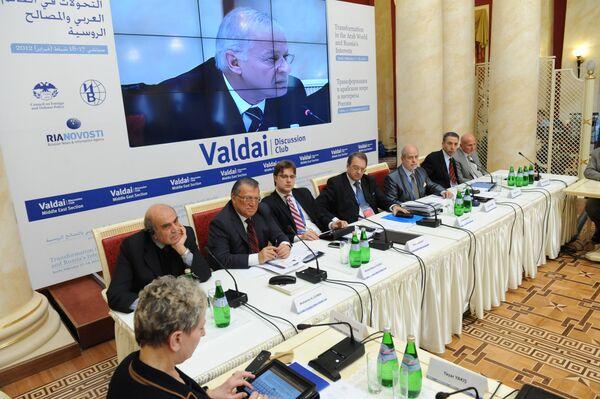 3e conférence du Club international de discussion Valdaï - Sputnik France
