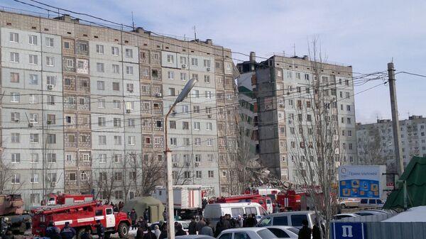 Russie: 14 disparus dans l'effondrement partiel d'un immeuble à Astrakhan - Sputnik France
