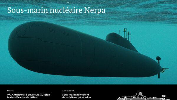 Sous-marin nucléaire Nerpa - Sputnik France