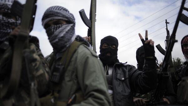 Свободная сирийская армия вербует детей в ряды боевиков – AFP - Sputnik France