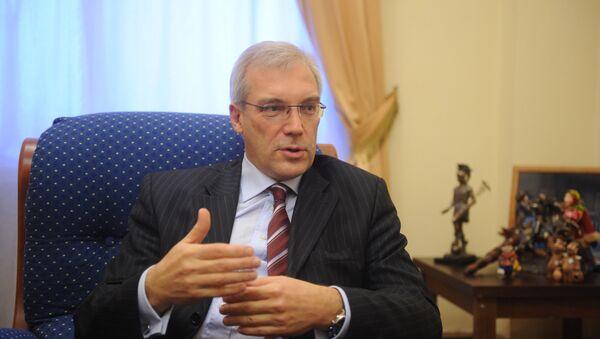 Заместитель министра иностранных дел РФ Александр Грушко - Sputnik France