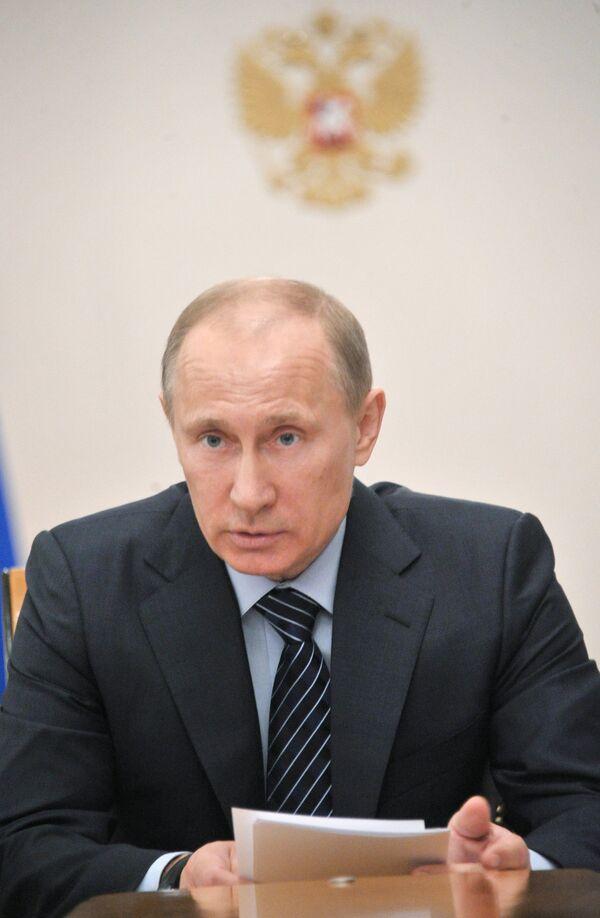 Premier ministre et président élu Vladimir Poutine - Sputnik France
