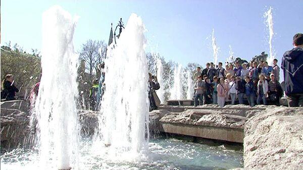 La saison des fontaines débute à Moscou - Sputnik France